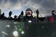 20161119-Capernwray1 (Dacmirc) Tags: diving uk ukdiving rebreather capernwray cold underwater scuba otter drysuit