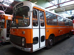 Preserved GM Buses 81 (HNE641N) 15102016b (Rossendalian2013) Tags: preserved bus manchester gmpte greatermanchesterpte greatermanchestertransport gmbuses leyland leopard psu3 ecw coach hne641n