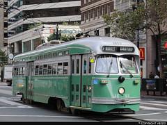 San Francisco Municipal Railway #1053 (vb5215's Transportation Gallery) Tags: muni san francisco municipal railway 1947 exsepta st louis car pcc
