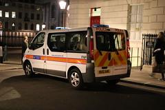 Metropolitian Police van-FNP (central1850) Tags: fnp bu12 auk london charing cross police metropolitian