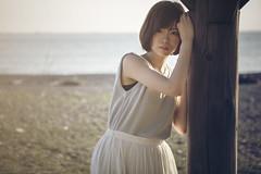 Vestiges of summer (TAKAGI.yukimasa1) Tags: portrait woman people cute girl beauty female fineart canon eos 5dsr japanese asiangirl cool
