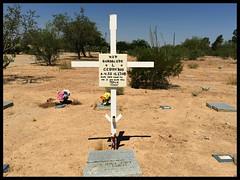 Guadalupe (The Lone Wadi Archives) Tags: pimacountycemetery graveyard headstones tombstones gravestones death finalrestingplace pimacounty pauperscemetery tucsonarizona