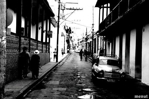 Un carrer de Santago de Cuba II - Cuba - A Street at Santiago de Cuba II