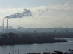 Smog (zinushana) Tags: haze kiev cityscape city smoke smog        ukraine