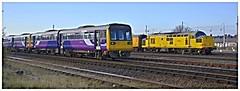 142038 (elr37418) Tags: blackpool north carriage sidings 97301 test network rail nikon d7000 uk england lancashire measurement structure gauging