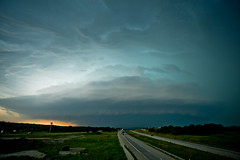 Spaceship Santo (SWR Chantilly) Tags: supercell thunderstorm santo texas hp
