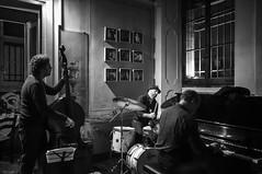 Greg Burk Expanding Trio @ Zingar Jazz Club (lorenzog.) Tags: gregburkexpandingtrio gregburk jazz jazzclub jazzitaliano jazzphotography jazzmusic live livemusic liveconcert concert concertphotography musicphotography bw 2016 faenza italy nikon d300