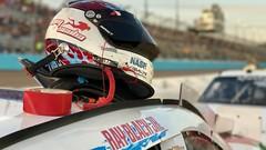 Ray Black Jr. #07     NASCAR Xfinity series (Schoonmaker III) Tags: nascar phoenixinternationalraceway nascarxfinityseries rayblackjr 07 helmet scubalifecom iphone7plus portraitmode appledeptheffect dof bokeh ducktape