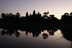 Angkor Wat (Marta Panunzi) Tags: cambodia world angkorwat temple sunrise people religion sky