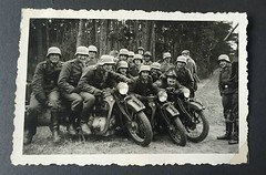 #Young Nazi soldiers posing on motorcycles circa 1937-1938, (rest of the photo album in comments). [ 1600 x 1040 ] #history #retro #vintage #dh #HistoryPorn http://ift.tt/2gIyzLt (Histolines) Tags: histolines history timeline retro vinatage young nazi soldiers posing motorcycles circa 19371938 rest photo album comments 1600 x 1040 vintage dh historyporn httpifttt2giyzlt