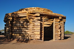 Hogan - Canyon de Chelly, AZ (appaIoosa) Tags: appaloosa appaloosaallrightsreserved arizona az canyondechelly din navajo naabeeh navajonation navajoreservation navajonationreservation tsyi hogan hooghan
