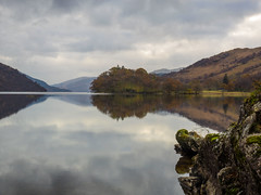 By Yon Bonnie Banks.... (vxisme.) Tags: lochlomond calm morning illusionsclouds reflections olympusome1