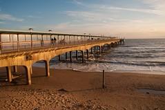 boscombe pier dusk (brazier305) Tags: boscombepier boscombe dorset season dusk december 2016 coast southcoast jurassiccoast sea seaside seascape