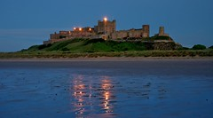 Bamburgh Castle @ Dusk (Chris Beesley) Tags: