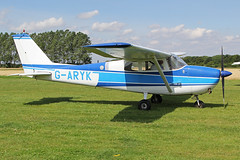 G-ARYK (QSY on-route) Tags: york light fly aircraft vale strut association laa in of garyk 08082015