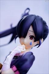 Azusa's face (gwennan) Tags: anime color macro cute colors japan closeup toy figure nakano figures stronger pvc kon azusa keion 5thanniversary animaru jfigure lightmusicclub nakanoazusa azunyan azusanakano