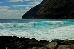 Morning at Makapu'u (jcc55883) Tags: ocean hawaii nikon surf oahu surfer pacificocean shore nikond3200 makapuubeach makapuupoint d3200