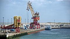 Calais, Hafenszene
