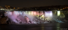CANADA (Aris Cereghetti) Tags: light night dark landscape darkness niagara falls acqua cascate