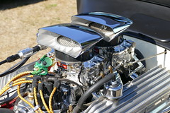 1927 Ford HotRod (bballchico) Tags: 1927 ford modelt chopped sedan hotrod terryg sylvieg arlingtondragstripreunionandcarshow arlingtoncarshow engine detail 206 washingtonstate arlingtonwashington