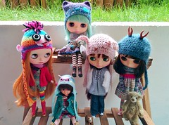 doll meet with dollily ^^