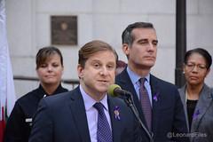 Domestic Violence Audit (LeonardFiles) Tags: california usa losangeles mayor cityhall controller lapd ericgarcetti kevinmccarthy amywakeland rongalperin