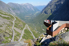 Trollstigen (hippohog68) Tags: road mountains norway landscape norge view scenic roadtrip scandinavia hairpin trollstigen hairpinbends
