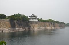 DSC_1270 (My many travels) Tags: castle japan  osaka moat