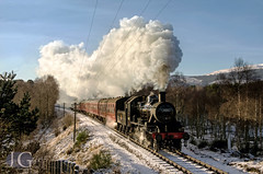 Important Announcement : Highland Ivatt, Photo Charters on the Strathspey Railway (Jonathon Gourlay) Tags: