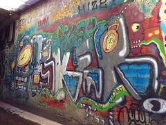 osker (always_exploring) Tags: graffiti tunnel osker