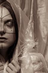 IMG_5982 (m.acqualeni) Tags: portrait en sexy trash dark emotion nu femme gothic goth sm plastic sombre manuel thrash manu fille gothique sado plastique souffrance photographe maso sadomaso bache bche nudit dcal fetichiste acqualeni