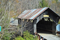 Covered Bridge in Stowe VT (dixiegal47) Tags: bridge architecture vermont outdoor scenic structure