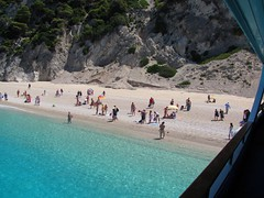 Egremi Beach (ForceMajeureMontenegro) Tags: sea beach greece  deniz yunanistan egremni lefkada ionianislands     papldimys