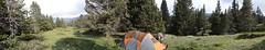 Panoramique (Samuel Raison) Tags: mountain montagne mountaineering vercors tente mountainhardwear hautsplateauxduvercors parcnaturelrégionalduvercors mountainhardweartrango31