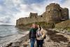 Two Girls at The Carrickfergus Castle (mbriga) Tags: ireland canon eos mark iii northernireland 5d northern hdr subtle subtlehdr 5dmk3 eos5dmarkiii 5d3 5diii