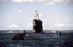 S42 HMS Ursula, Royal Navy, Solent (Kev Slade Too) Tags: solent portsmouth royalnavy fleetreview s42 upholderclass hmsursula