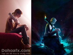 Before and After Retocuhing - Dohoafx.com (NguyenLuong) Tags: art photoshop photography design amazing image picture retouching
