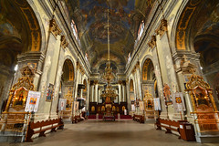 (Thomas Roland) Tags: summer sommer holiday travel ukraine  lvov lemberg city by stadt  oblast lviv europe europa historic center centre unesco world heritage church building architecture buildings house    koci karmelitw bosych barefooted carmelite monastery st michaels archangel michael inside interior