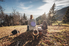 Schauenburg (Andris Linz | Photography) Tags: autumn mountains alps fall berg river landscape schweiz switzerland outdoor herbst feld himmel gras alpen landschaft sonne solothurn aare biel mittelland