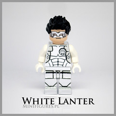 White Lanter 3 (Minifigures.pl) Tags: new white game green silver kyle dc lego pad machine super chrome corps heroes lantern minifig superheroes custom printed league 52 rayner chromed minifigures minifigurespl justuice