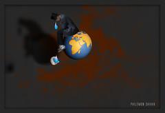 Gravité (Philémon Shivar) Tags: gravity terre tristesse planète larme gravité pleurer attentat