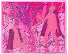 from Hilal Turoluk (tofuart) Tags: pink art mixedmedia mailart pembe pinkweek