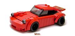 Porsche, Wide Porsche. (ZetoVince) Tags: car lego 911 vince porsche 930 stance zeto zetovince