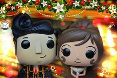 Kiss me Underneath the Mistletoe (PrinceMatiyo) Tags: christmas maria manolo funko bookoflife funkopop
