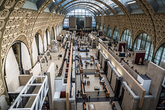 Orsay Museum-great hall (Maryann's*****Fotos) Tags: travel paris france art architecture view interior historic orsaymuseum mffotosoldsaybrook