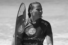 Alice Lemoigne (Swebbatron) Tags: ocean sea blackandwhite monochrome canon cornwall surf surfer newquay competition surfing longboard tamron kernow fistral fistralbeach boardmasters radlab gettotallyrad gurfer alicelemoigne worldsurfleague