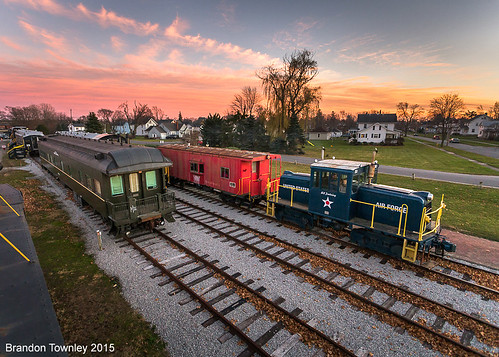 Mad River & NKP Railroad Museum Holiday Train