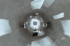 Time warp accelerator (ElmerstarK) Tags: france castle monochrome architecture stair centre chambord tunel fr château renaissance escalier patrimoine châteauxdelaloire