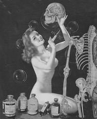 colla (STORMZORN) Tags: woman naked nude skeleton skull chica crane mort danse eros muerte tanz macabre tod maiden cadaver cadavre madchen squelette thanatos pouet tott dellamorte fillejeune znort femmedame mementomorinue