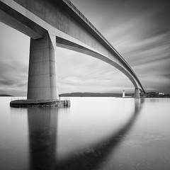 Tide and time (Richard Hunter d3s) Tags: skyebridge isleofskye longexposure